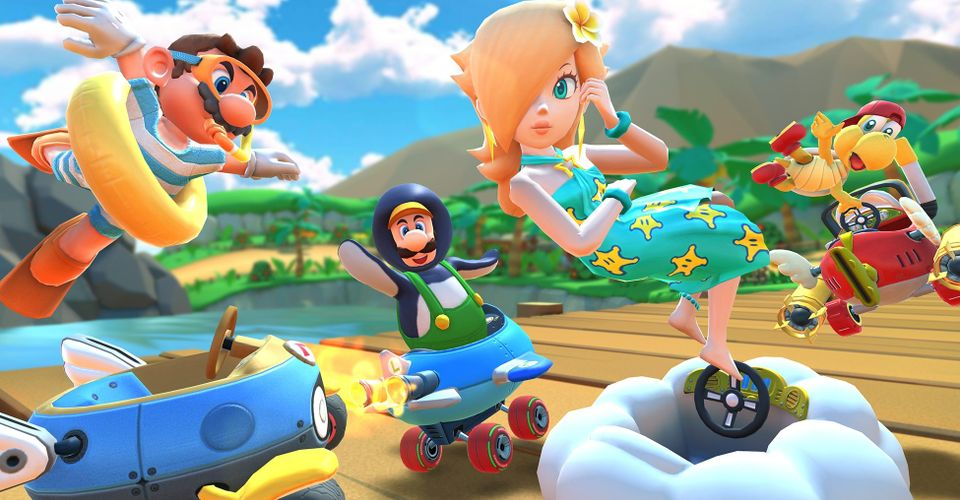 Get Ready For Mario Kart Tour S Pirate Tour Launching August 11