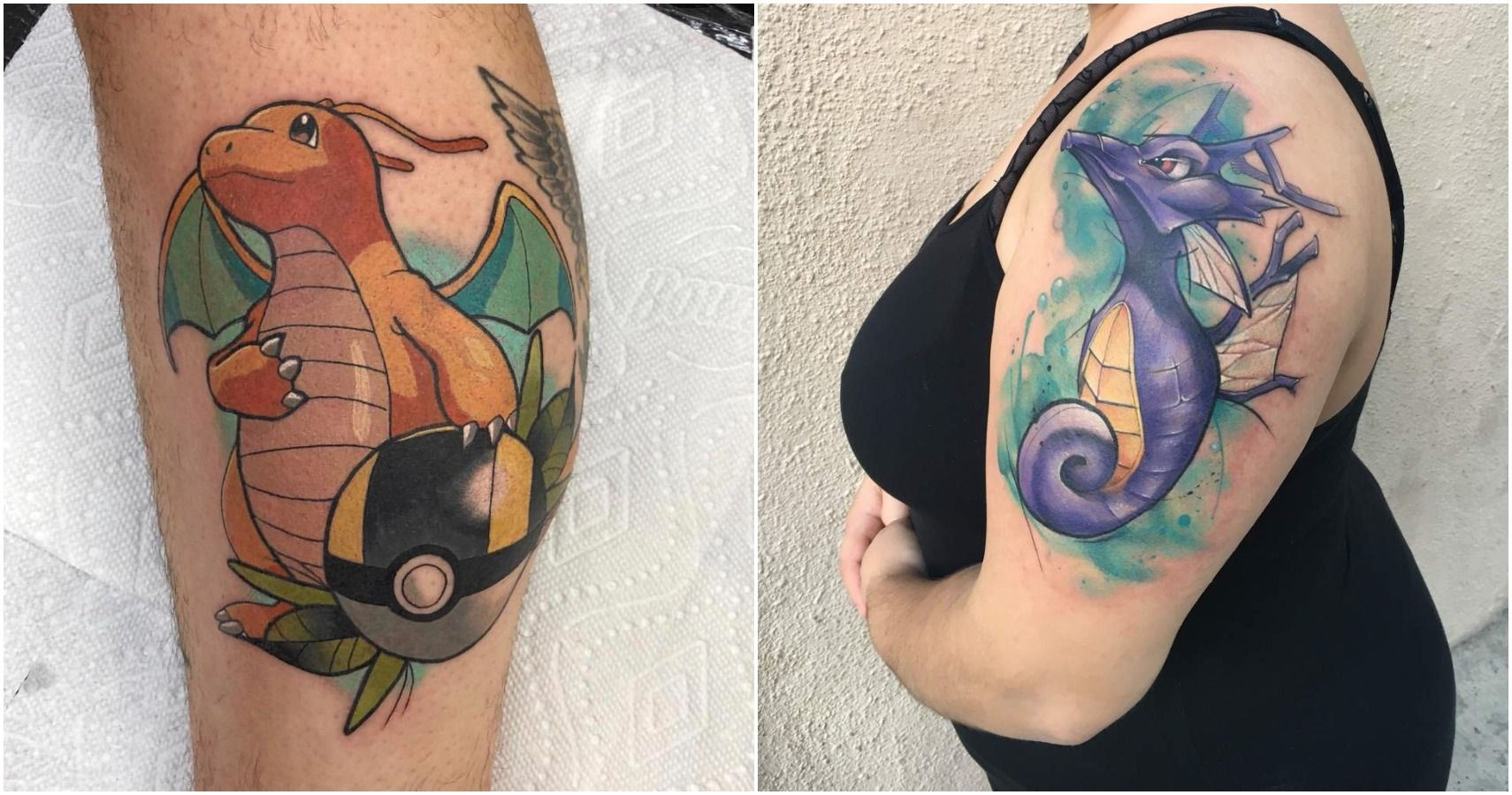 Pokemon: 10 Real Dragon-Type Tattoos For Dedicated Trainers