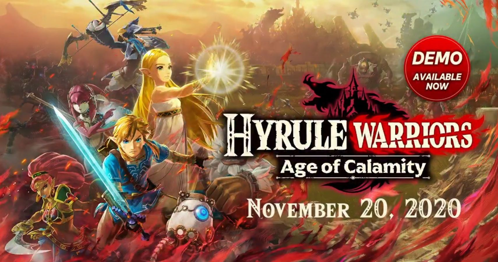 Hyrule Warriors Age Of Calamity Demo Available Now Save Data Carries Into Full Game