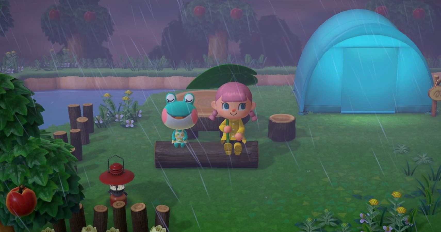 Gaming Detail: Frog Villagers Don't Need Umbrellas In ...