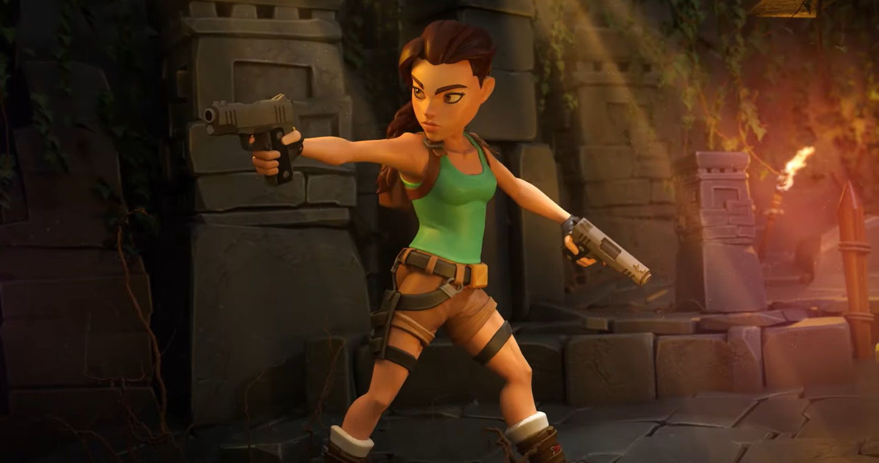 Grab Both Your Pistols, Tomb Raider Legend And Anniversary