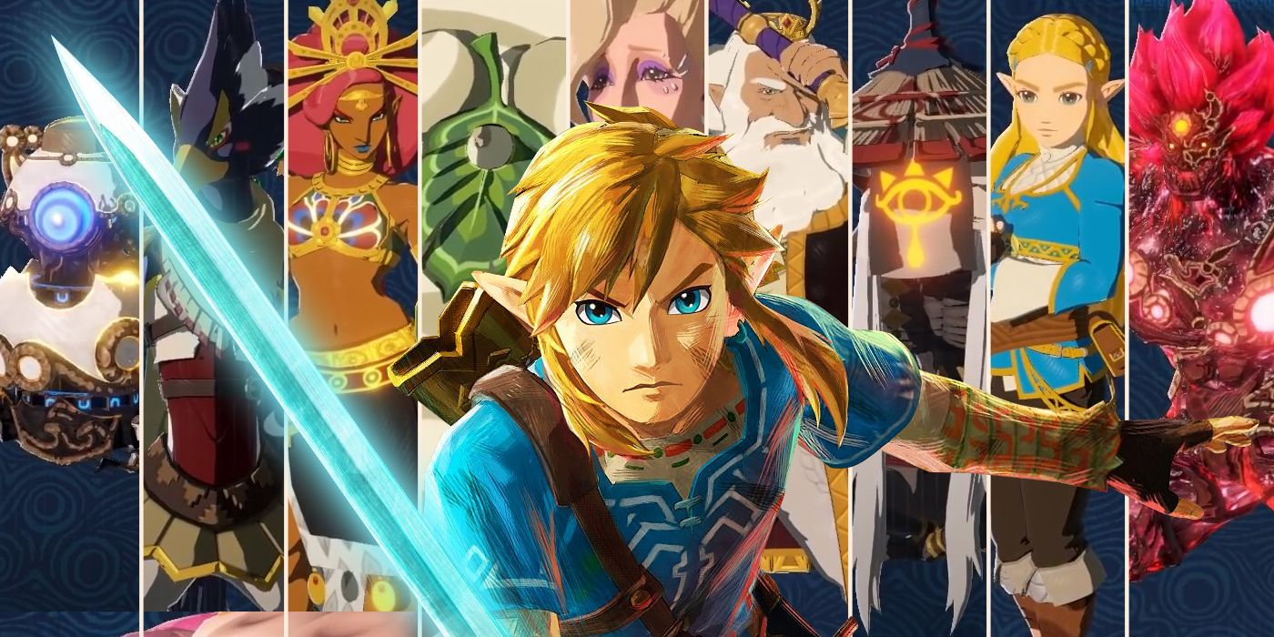 Every Playable Character In Hyrule Warriors Age Of Calamity How To Unlock Them