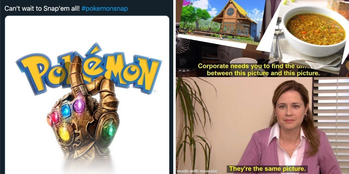 New Pokemon Snap: 10 Memes That WIll Leave You Crying Of Laughter