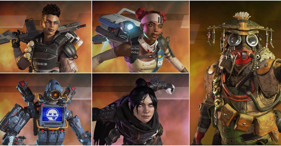 Görsel 7: Apex Legends'a Yeni Başlayanlar İçin En İyi 5 Karakter - Liste - Pilli Oyun