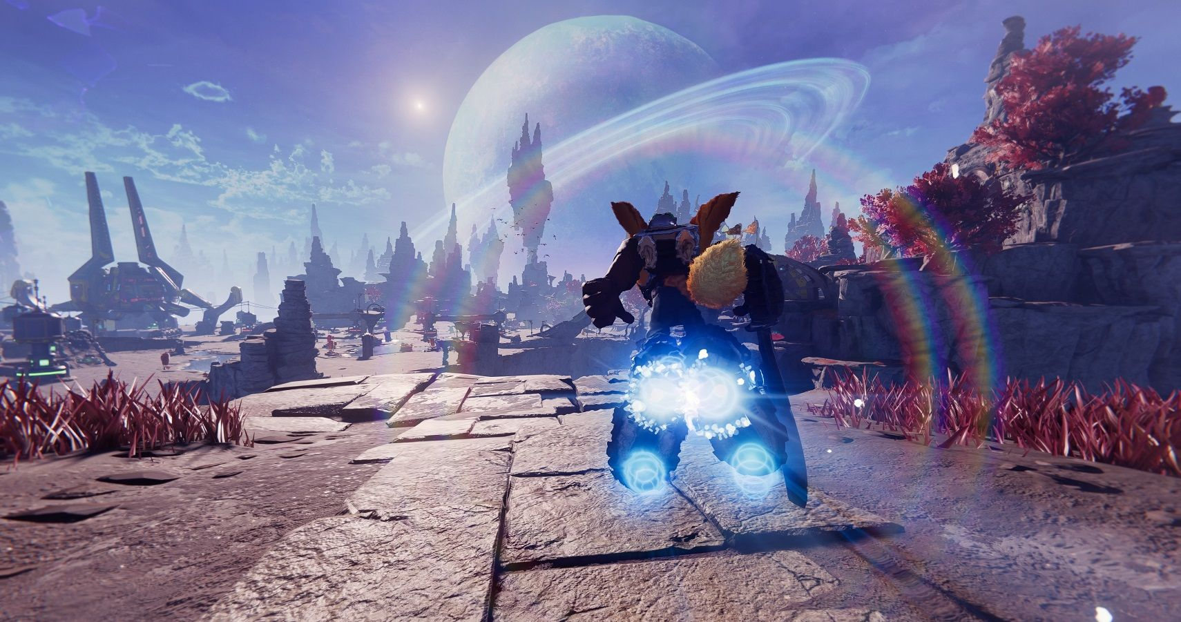 Ratchet And Clank: Rift Apart's Small Open Worlds Are Great