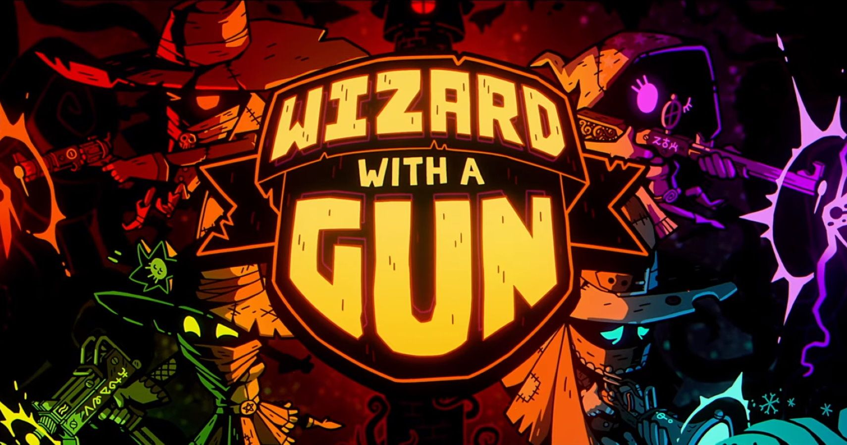 Wizard With A Gun Pretty Much Says It All With The Title